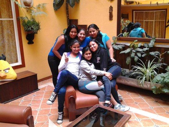 Los Rios Hotel : En al sala de espera