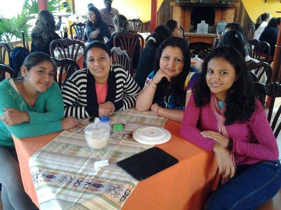 Los Rios Hotel : En el comedor