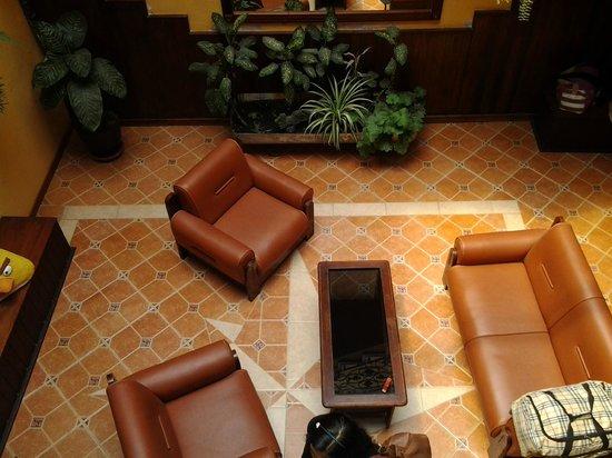 Los Rios Hotel : Vista de la sala de espera