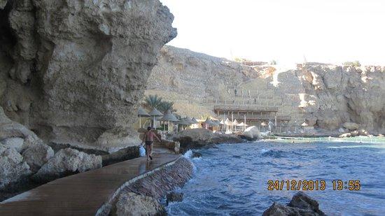 Dreams Vacation Resort : Пляж.