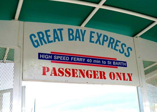 Great Bay Express: Sign