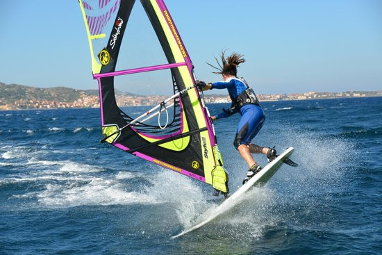 Salty Wind : windsurfing action