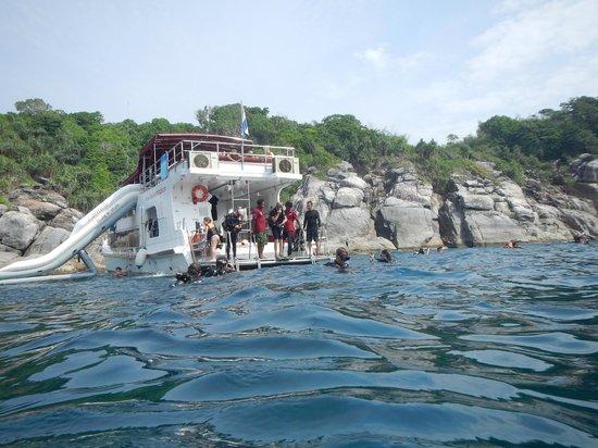 Amazing Phuket Adventures: Le bateau Latitude