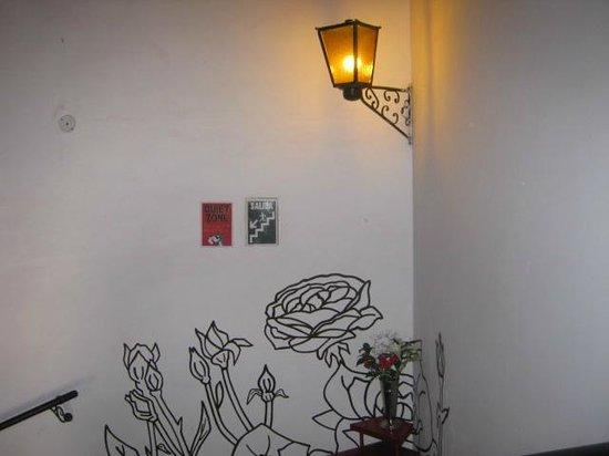 Pariwana Hostel : Escalera...