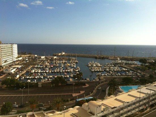 Marina Bayview: Utsikt från terassen