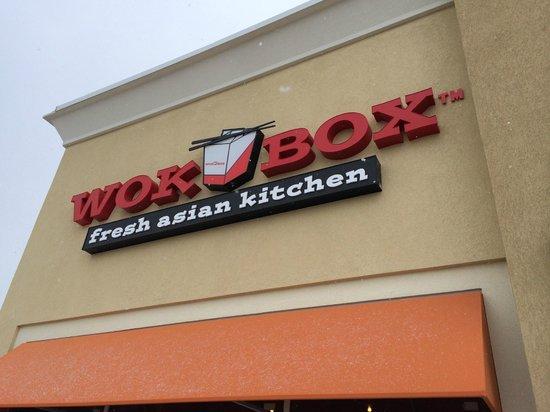 Wok Box : Exterior