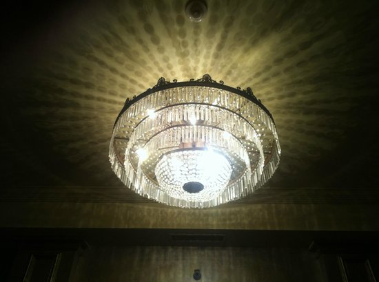 Bourbon Orleans Hotel: Entrance way lighting