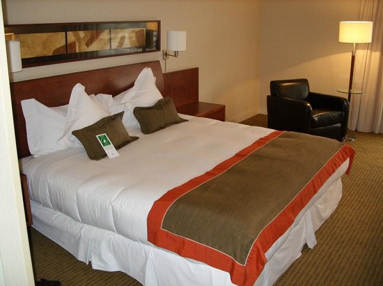 Holiday Inn Santiago Airport : Кровать