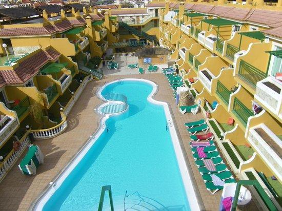 Caleta Garden : Pick a room on the left gets more sun