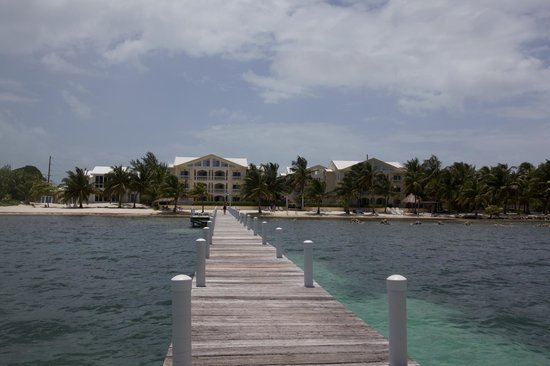 Pelican Reef Villas Resort: View from the Pier
