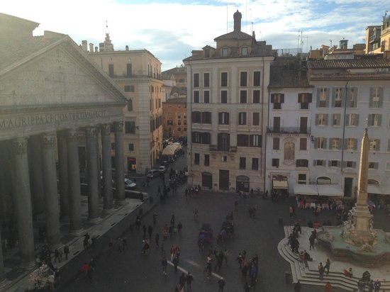 Albergo del Senato : Room With A View