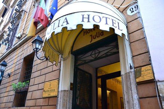 Hotel Julia : Esterno Julia