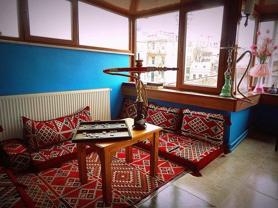 Galata West Hostel : Terrace