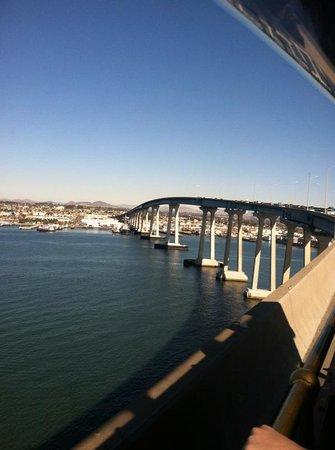 Coronado Bridge: Do forget to look back when you cross the bridge