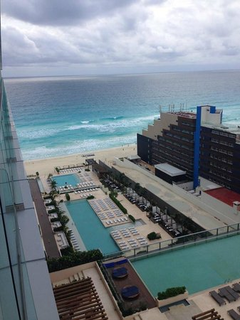 Secrets The Vine Cancun: View from our honeymoon suite