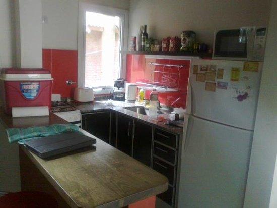 Kaia Aparts & Spa: Cocina