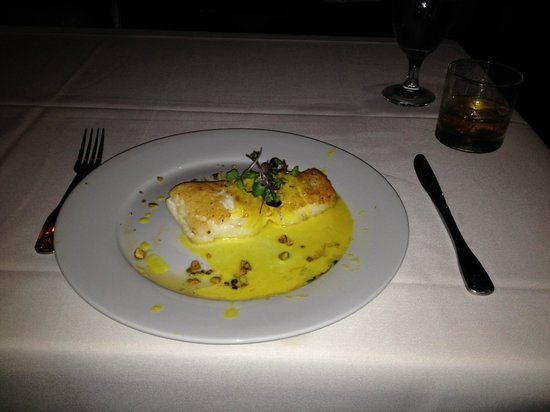 Eddie V's Prime Seafood: Sea Bass Special - Light, Buttery, Melt In Your Mouth!