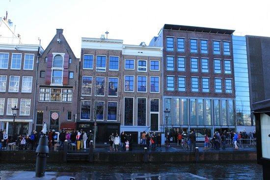 Anne Frank House: fachada