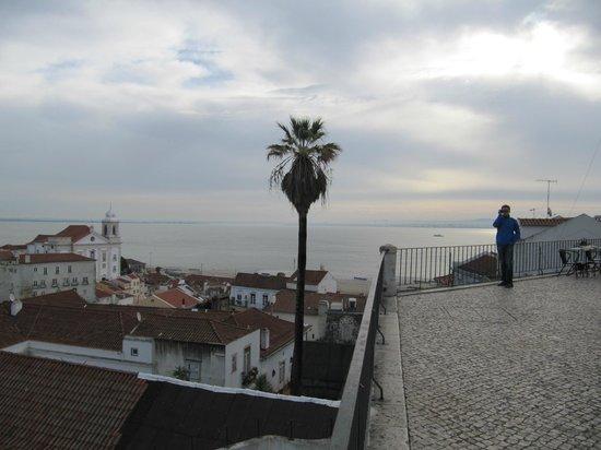 Miradouro de Santa Luzia: смотровая площадка