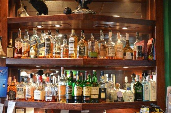 Man Cave Liquor Decor : Mulligans liquor shelves picture of pub ponte