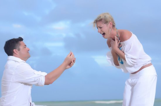 Dreams Punta Cana Resort & Spa : Staff photographers did a great job capturing special moments!