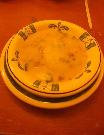 Olive Garden: Zuppa toscana ( soup) - 22 janvier 2014.