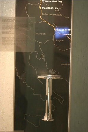 German Sports and Olympic Museum : Olympic Torch 1936 Olympic Games, Berlin