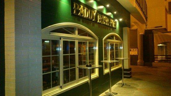 Paddy Irish Pub Rota
