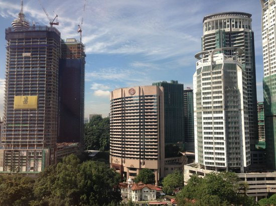 Hotel Maya Kuala Lumpur : View from Room 1310 (Deluxe Suite)