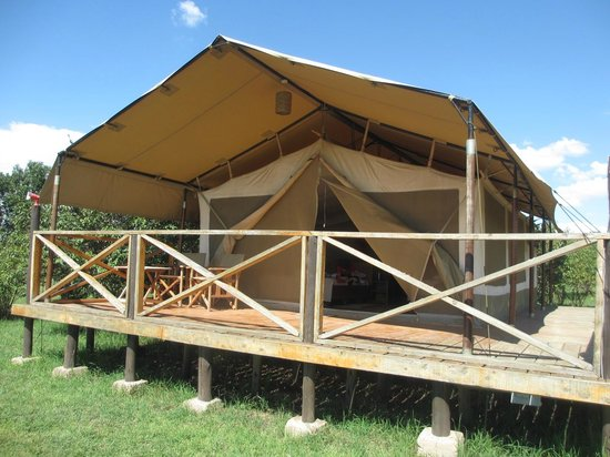 Loyk Mara Luxury Camp: Our tent...