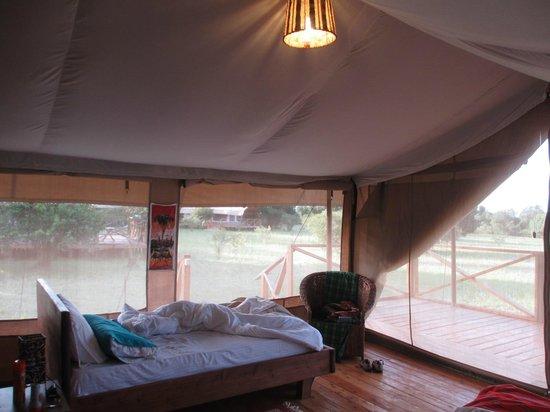Loyk Mara Luxury Camp: Mornings in the tent...
