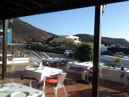Casa Rafa Restaurante de Mar: terraza