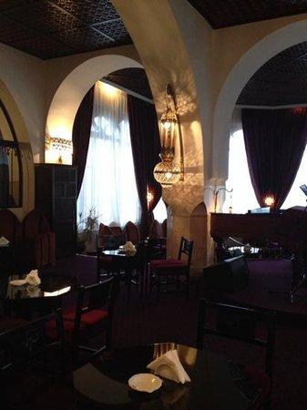 El Minzah Hotel : El Minzah Lounge