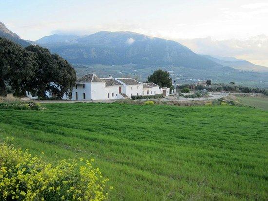 View of Cortijo Los Lobos while on a walk