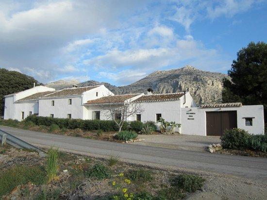 View of Cortijo Los Lobos from road (as you enter)