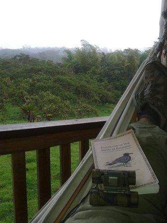 Rubby Hostal: Vista desde el balcon de mi habitacion