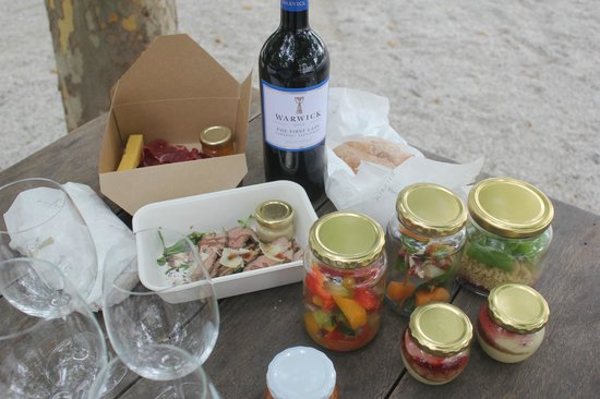 Warwick Wine Estate: pic nic