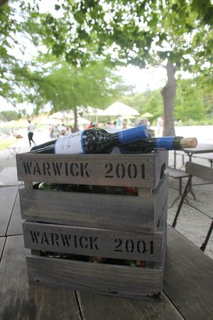 Warwick Wine Estate: cesta completa !
