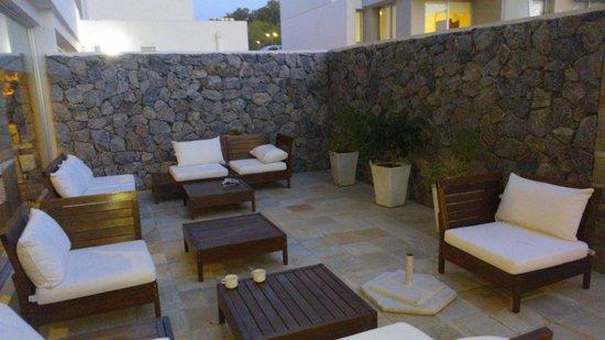 Real Colonia Hotel & Suites : Exterior del comedor