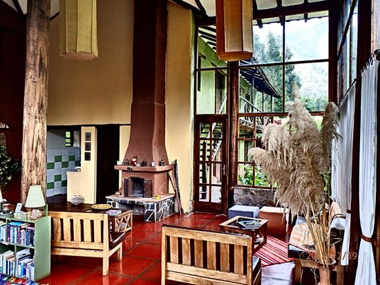 The Green House Peru: The common area...