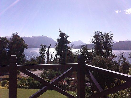 Hosteria Le Lac : Blick von der Terasse