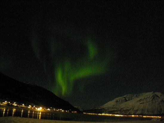 Manndalen Sjoebuer: Aurora Boreale