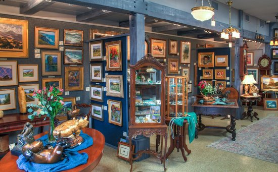 Solvang Antiques: Judith Hale Gallery