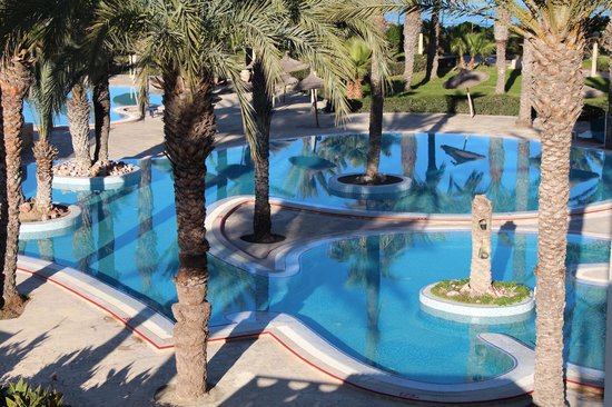 Houda Golf and Beach Club: вид из моего окна