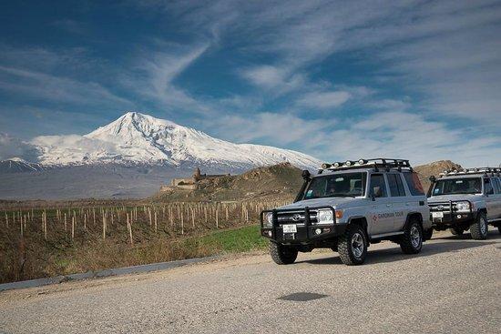 อาร์เมเนีย: Ararat mountain, Khor Virap monastery