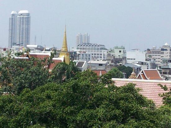 Hotel De Moc: uitzicht op Bangkok