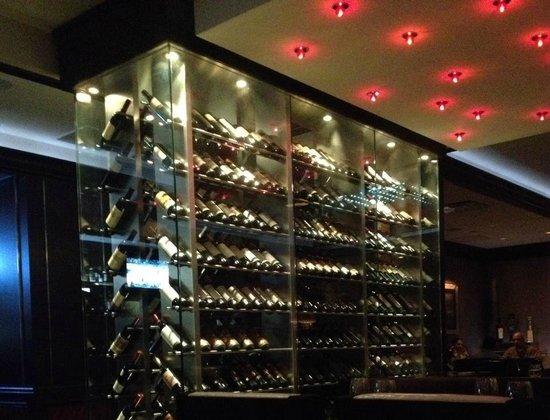 Vic & Anthony's Steakhouse: wine ... wine...