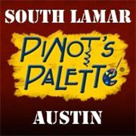 Pinot's Palette: Logo