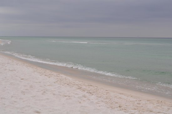 The Summit Condominiums: The Beach during winter months!