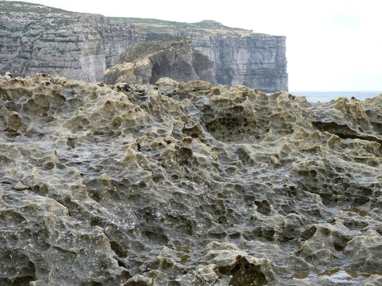Azure Window: Careful as the rocks can be slippy at times!!!!